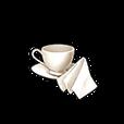 Teacup and Handkerchief Shard