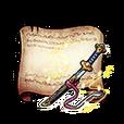 Wakizashi - Astral Perianth Diagram Piece