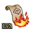 Scroll of Flames Lv3