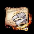 Mercenary Scarf Diagram Piece