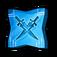 Godly Agility Twin-Blade Swordsman Token