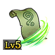 Scroll of Whirlwinds Lv5