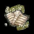 "Musical Score ""Return of the Blue Flame"" Shard"