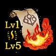 Scroll of Flames Set