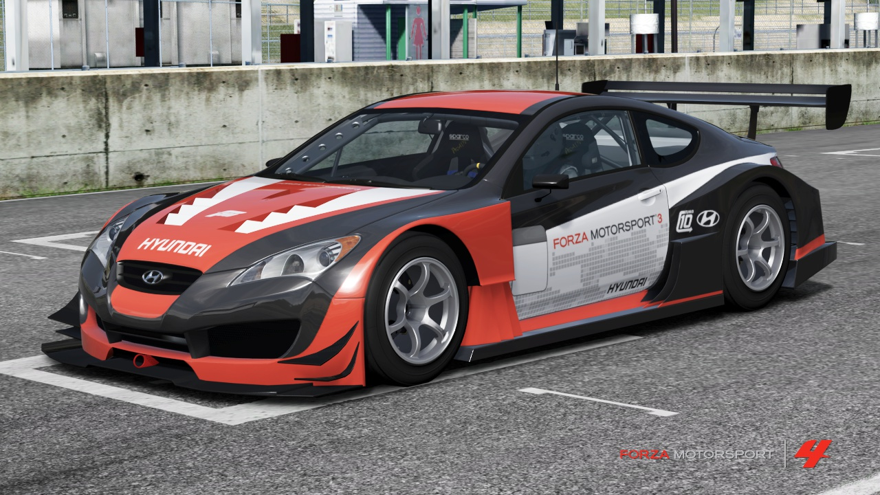Hyundai Forza Motorsport Genesis Coupe