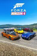 FH4 DLC Open Top Car Pack