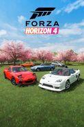 FH4 DLC Japanese Heroes Car Pack