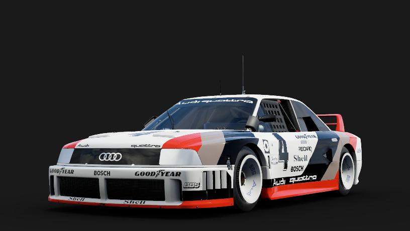 Audi 4 Audi 90 quattro IMSA GTO
