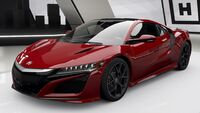 FH4 Acura NSX Front