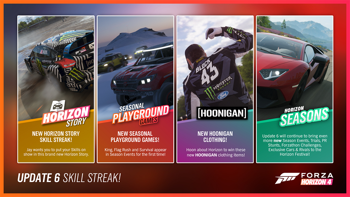 Forza Horizon 4/Update 6