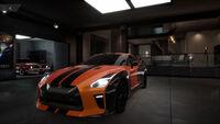 FS Nissan GT-R 17 Front