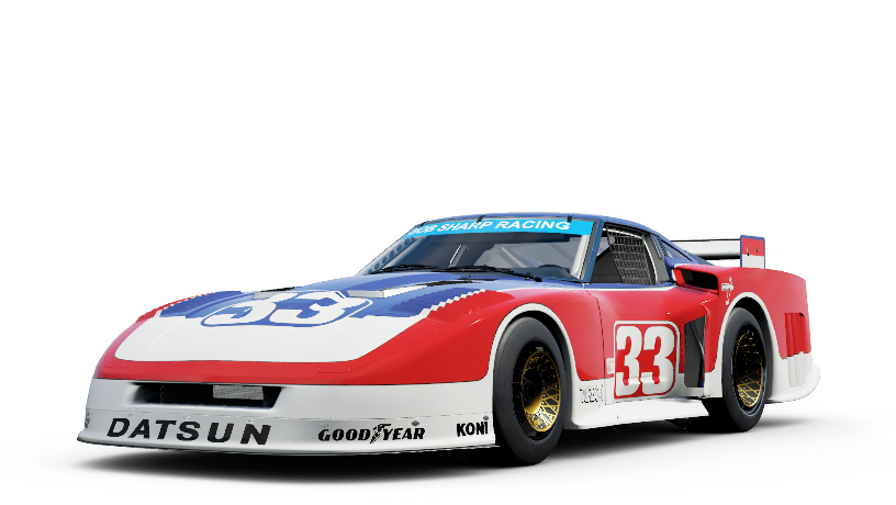 Datsun 33 Bob Sharp Racing 280ZX Turbo
