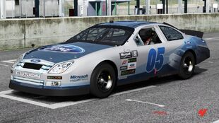 Ford #05 Ford Racing Fusion Stock Car in Forza Motorsport 4
