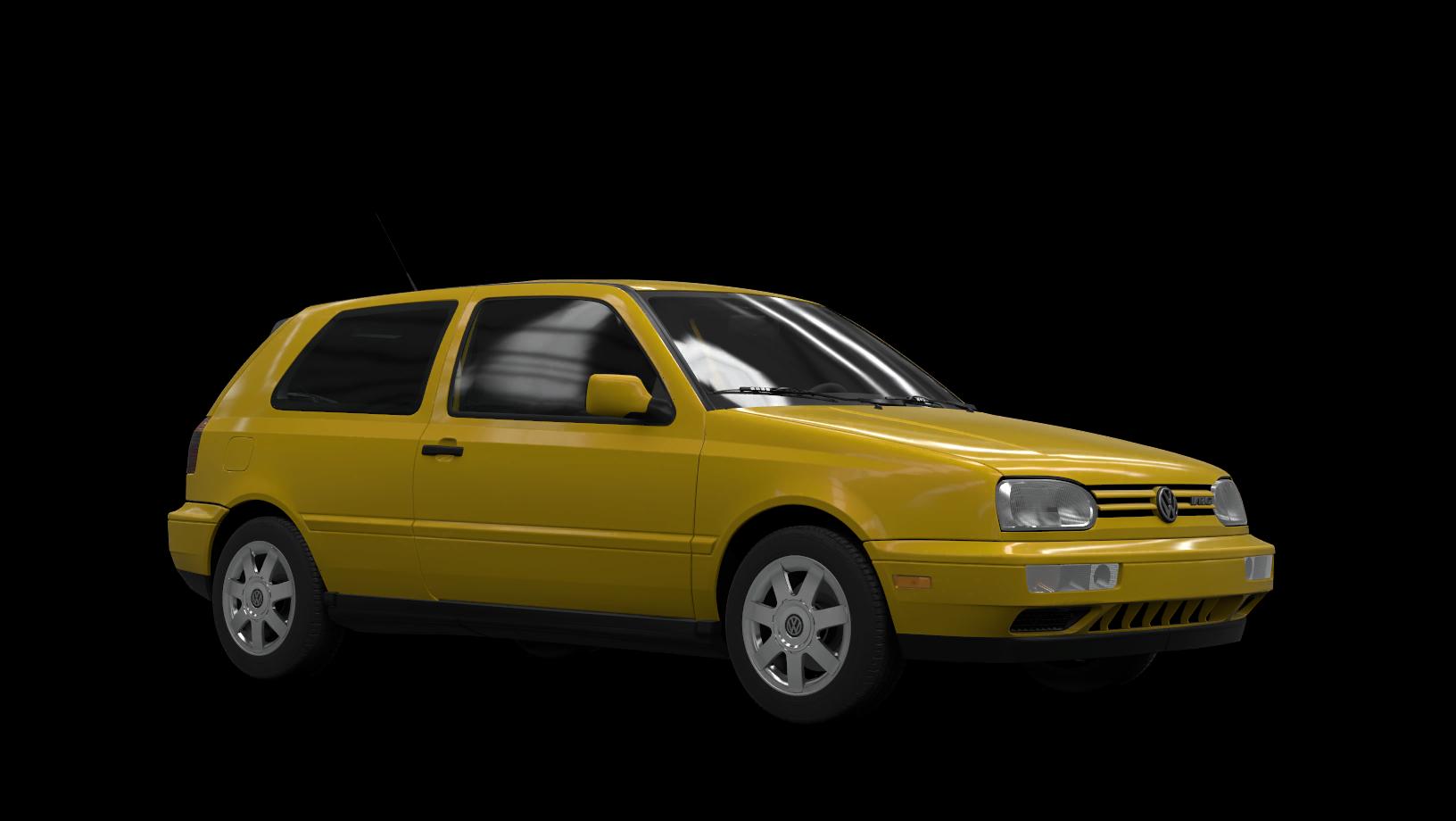 Volkswagen GTI VR6 Mk3