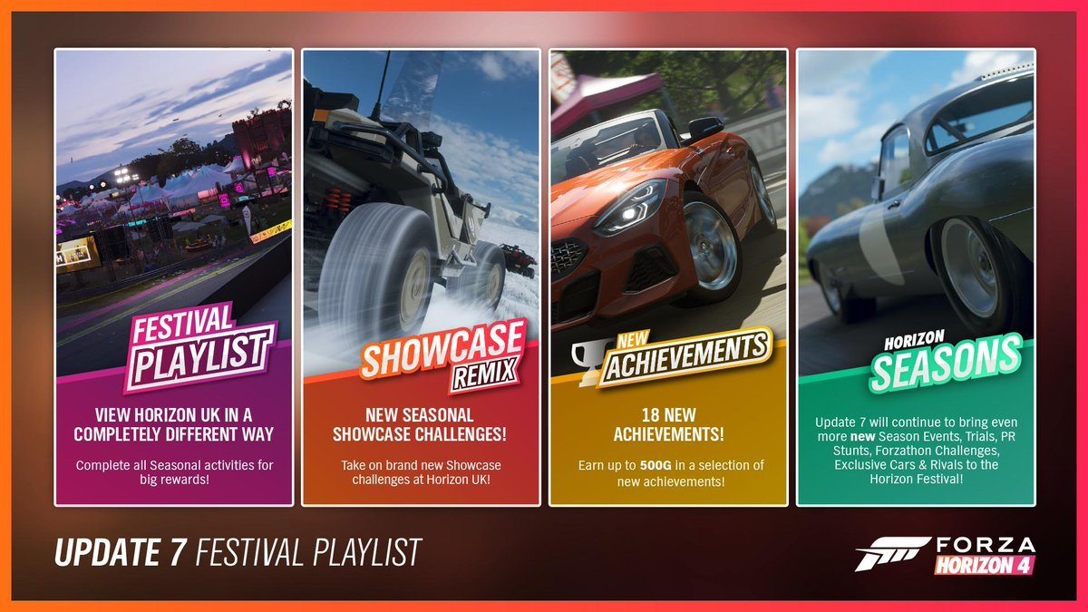 Forza Horizon 4/Update 7