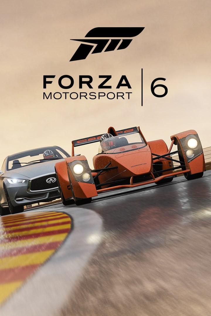 Forza Motorsport 6/Logitech G Car Pack