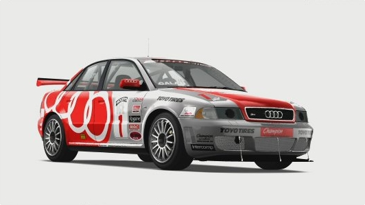 Audi 1 Champion Racing S4 Competition