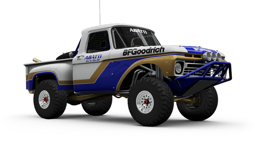 Ford F-100 Flareside Abatti Racing Trophy Truck