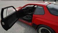 FM7 Porsche 924 Interior