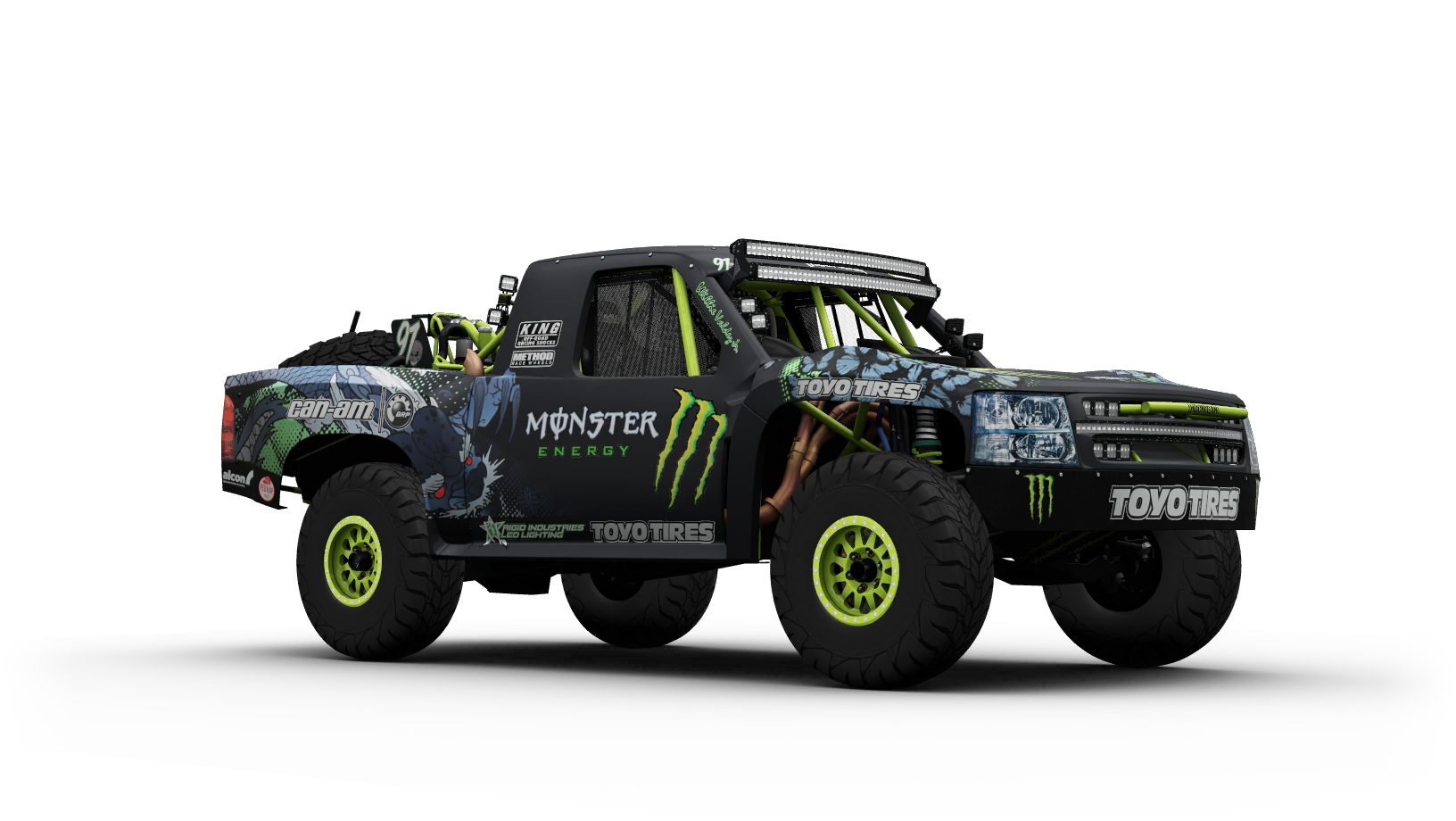 Baldwin Motorsports 97 Monster Energy Trophy Truck