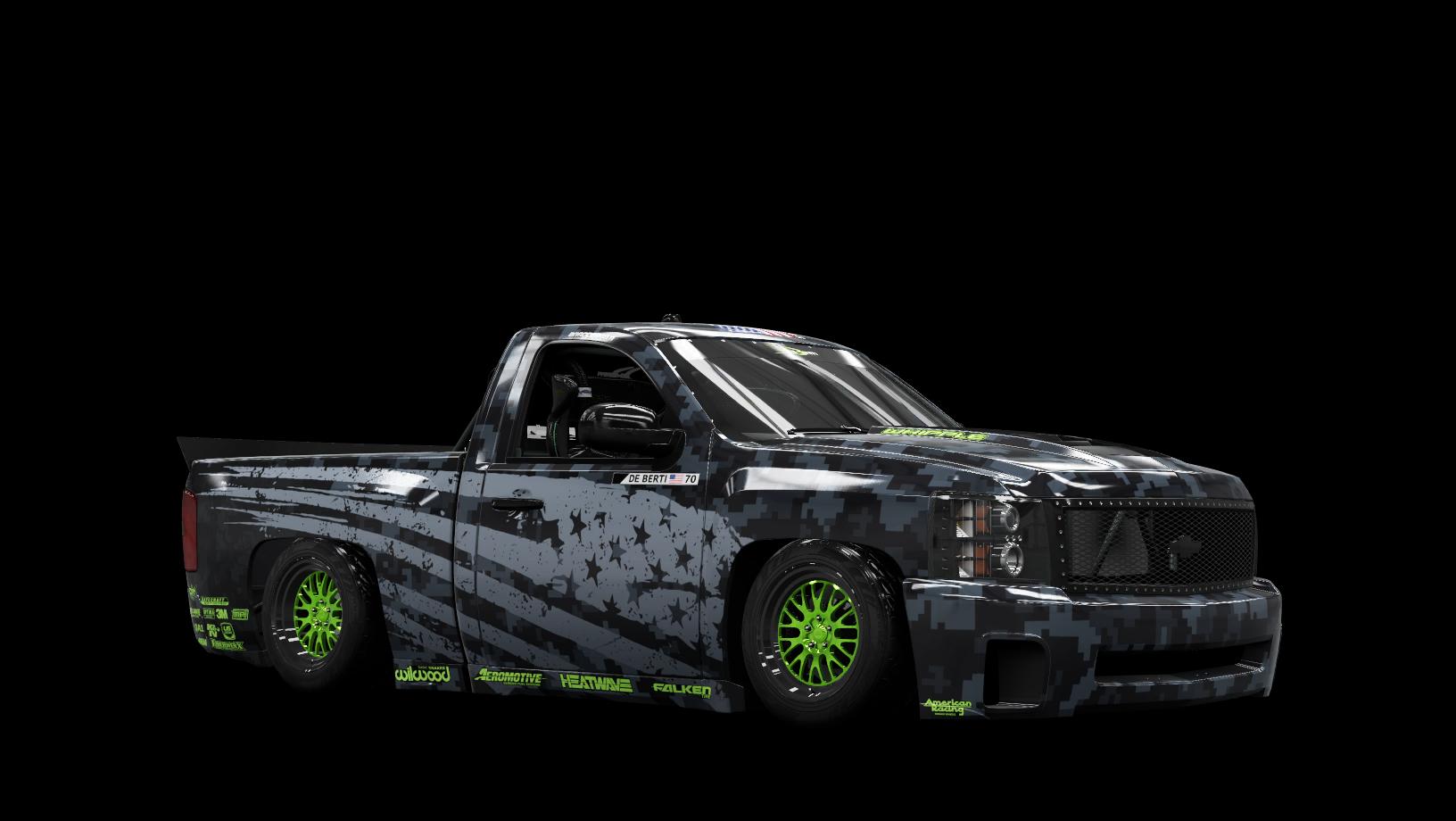 Chevrolet Silverado 1500 DeBerti Design Drift Truck