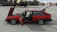 FM7 Alfa GTV-6 Exploded