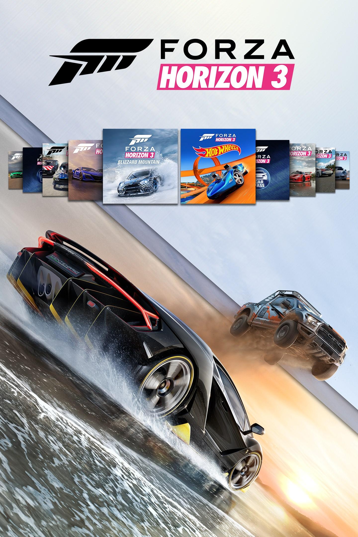 Forza Horizon 3/Platinum Plus Expansions Bundle