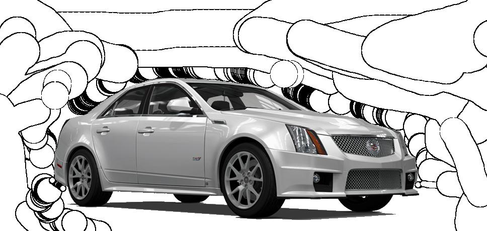 Cadillac CTS-V (2009)