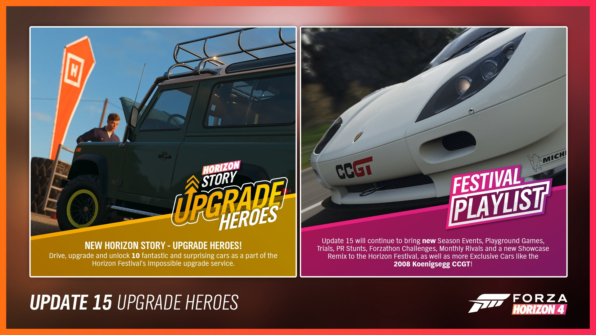 Forza Horizon 4/Update 15