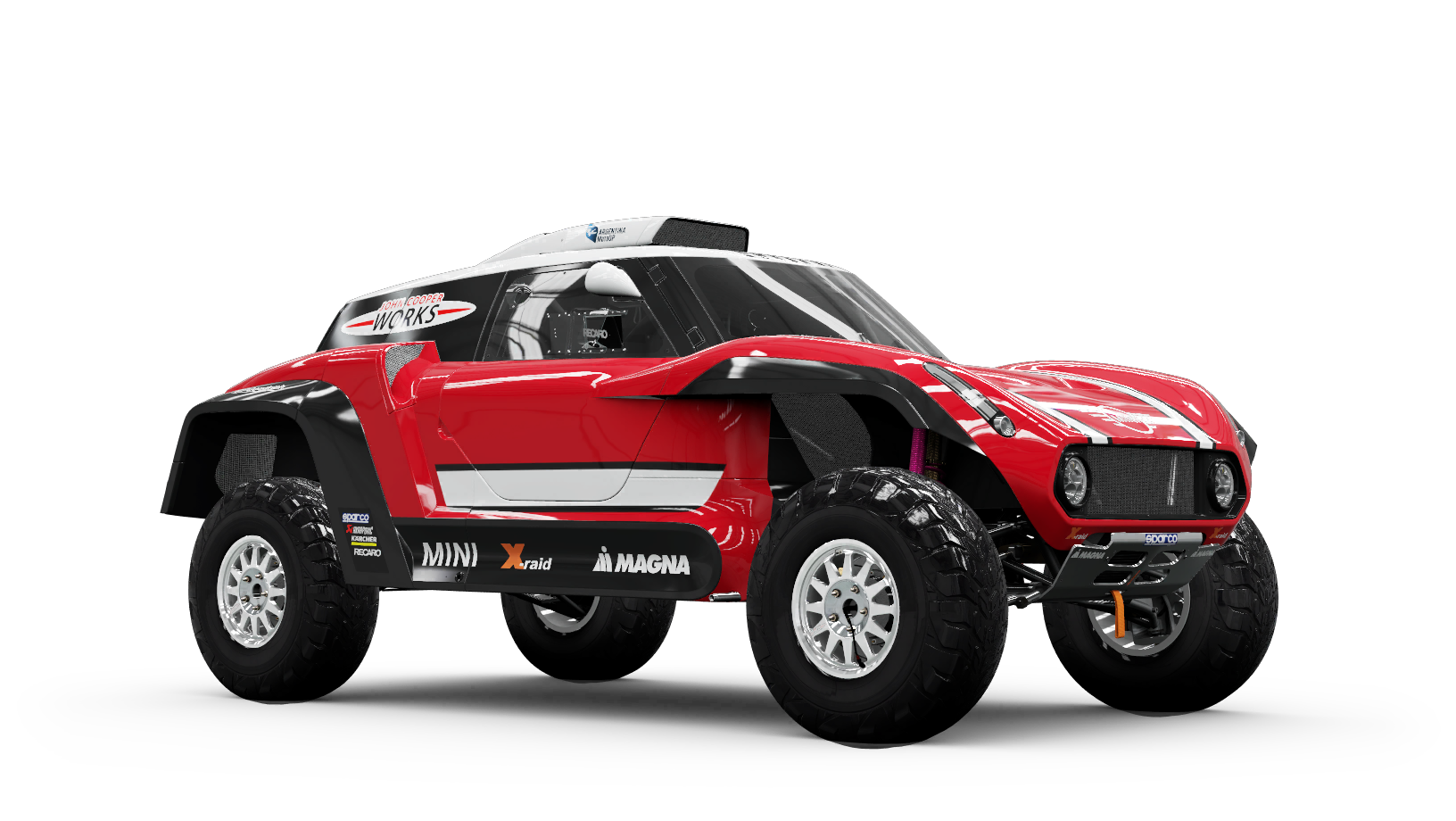 MINI X-Raid John Cooper Works Buggy