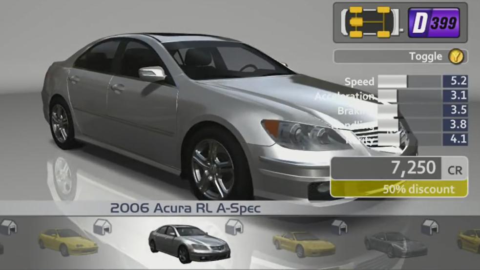 Acura RL A-Spec