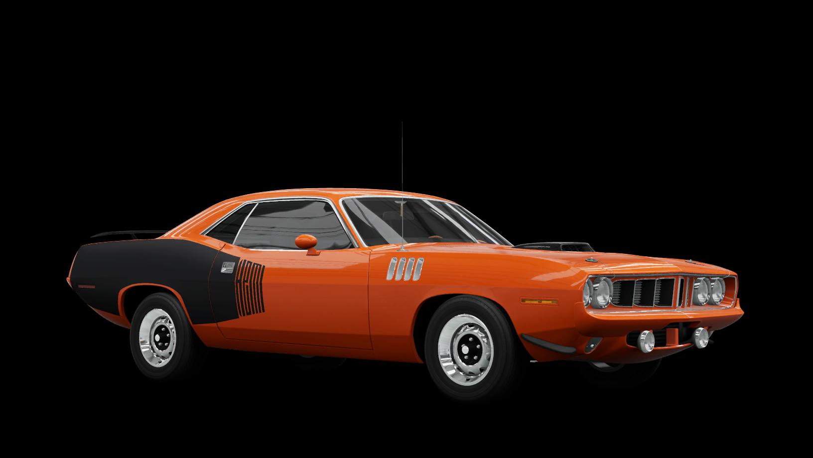 Plymouth Cuda 426 HEMI