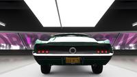FH4 Ford Mustang Fastback Street Rear Bumper