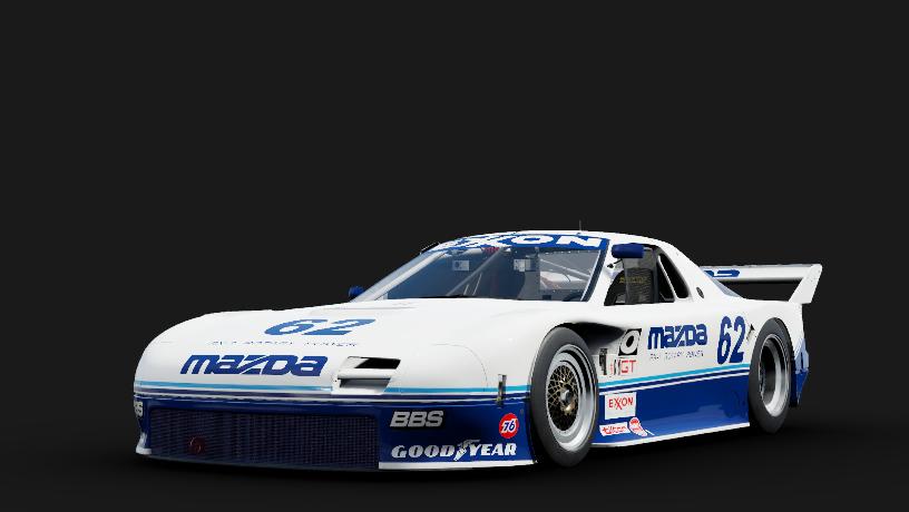 Mazda 62 Mazda Motorsport RX-7