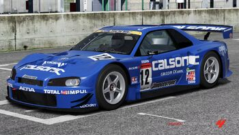 Nissan #12 CALSONIC SKYLINE in Forza Motorsport 4