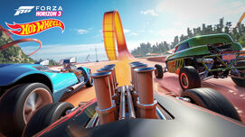 FH3 Expansion HotWheels TrackView