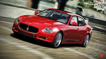 Maserati Quattroporte Sport GT S in Forza Motorsport 4