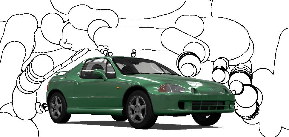 Honda CR-X del Sol SiR