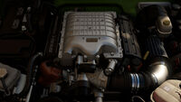 FM7 Jeep Trailcat Engine