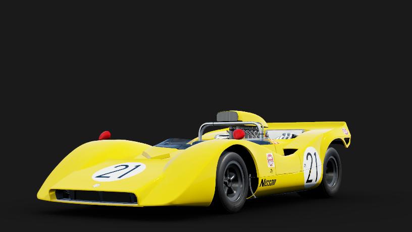 Nissan 21 Nissan Racing R382
