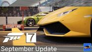 Forza Motorsport 7 September 2018 Update - Experimental Drag Trailer
