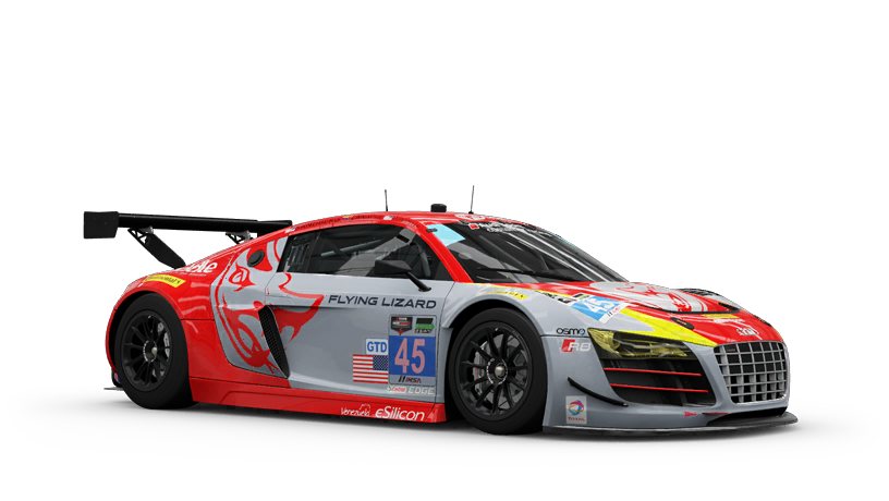 Audi 45 Flying Lizard Motorsports R8 LMS ultra