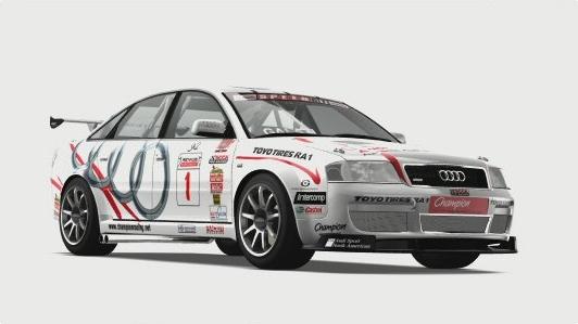 Audi 1 Champion Racing RS 6