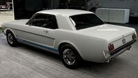 FM6A Ford Mustang 65 Rear