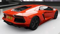 FH4 Lamborghini Aventador Rear