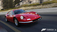 FM5 Ferrari Dino Promo