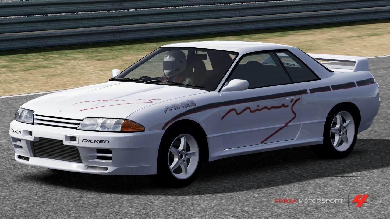 Nissan Mine's R32 Skyline GT-R