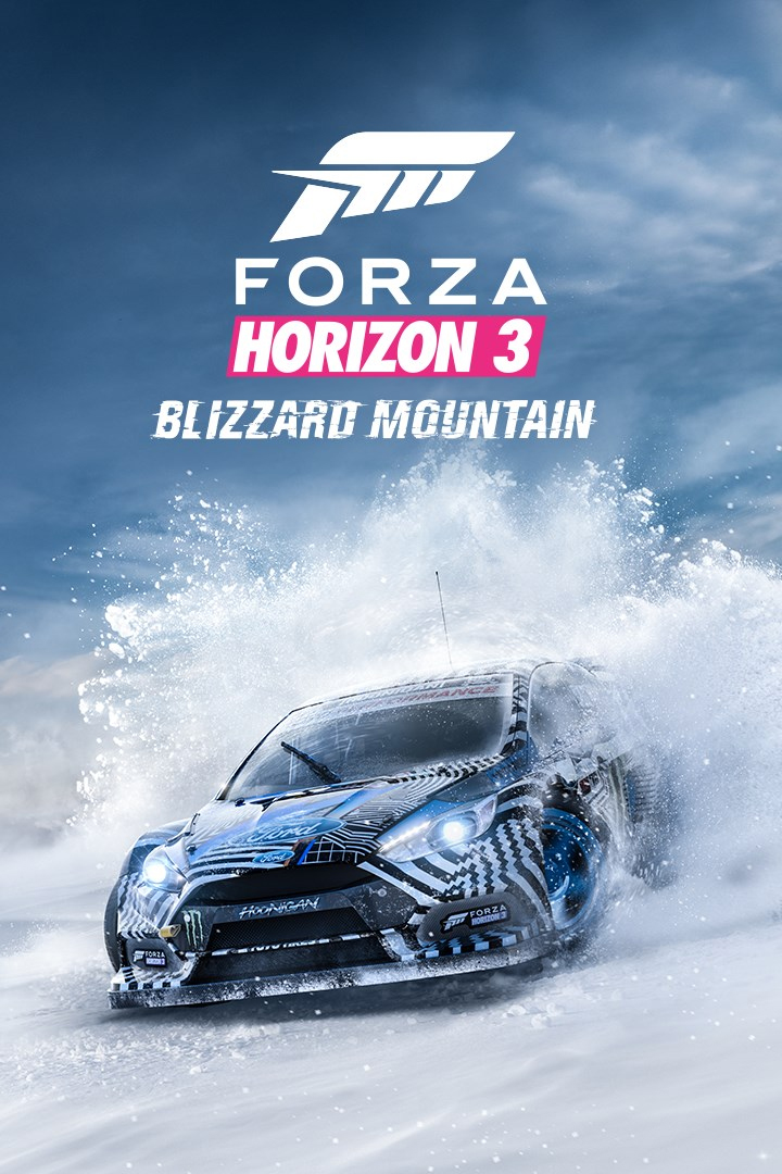 Forza Horizon 3/Blizzard Mountain Expansion