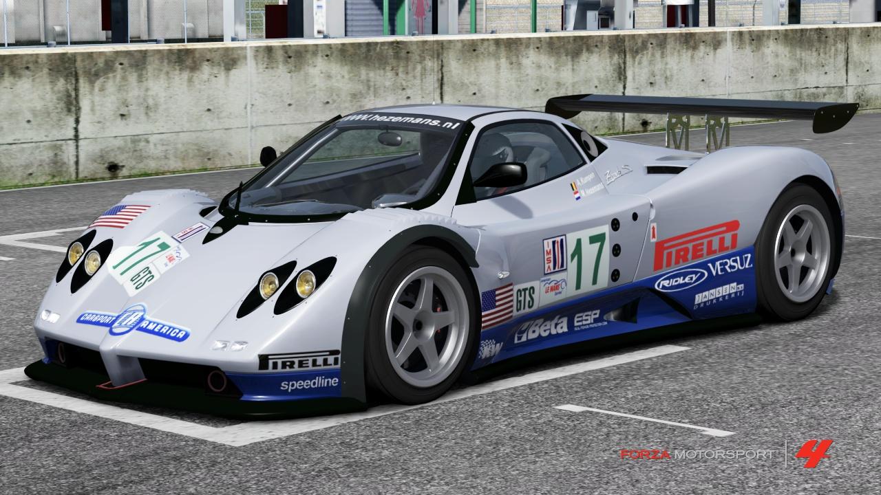Pagani 17 Carsport America Zonda GR