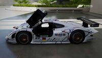 FM6 Porsche 911 GT1 98 Exploded